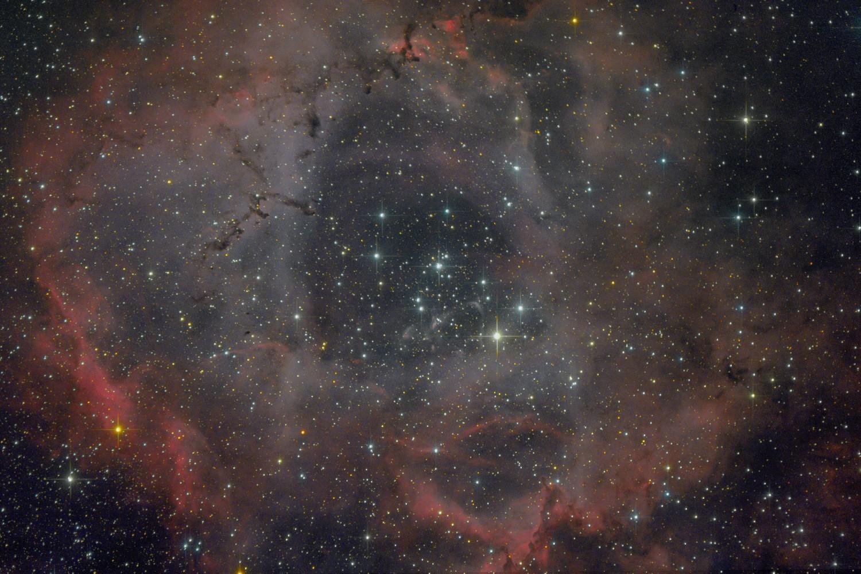 NGC 2237: The Rosette Nebula