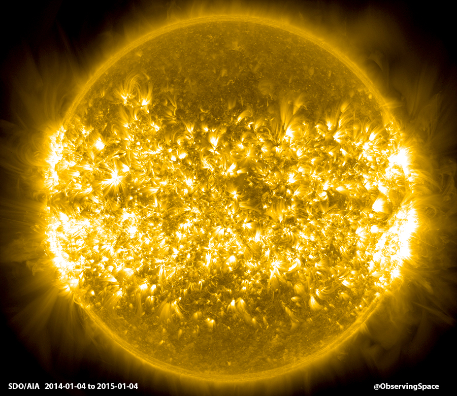 A Year on the Sun - 2014