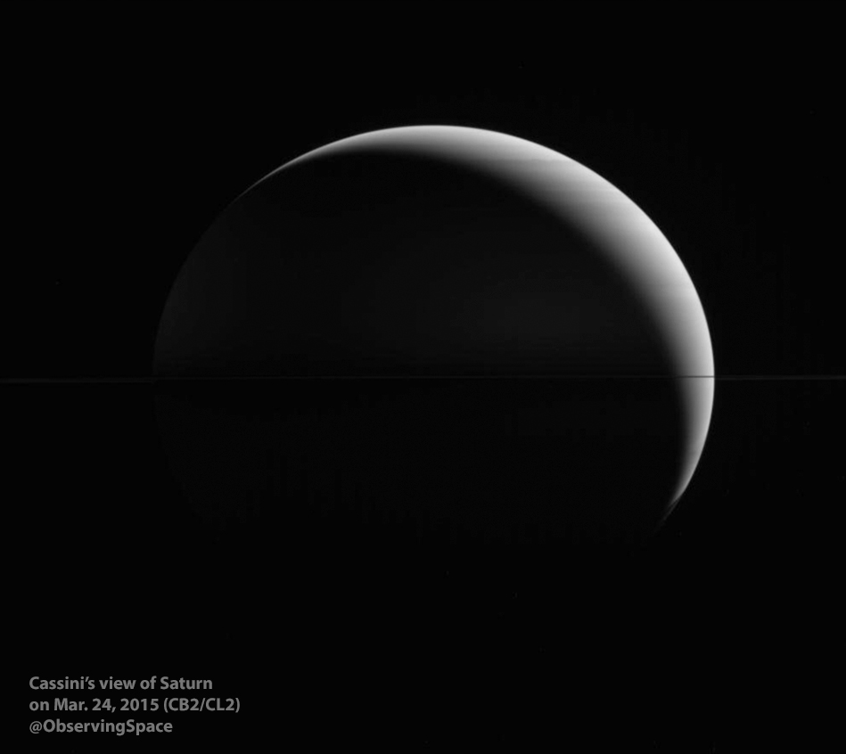 Saturn March 24, 2015
