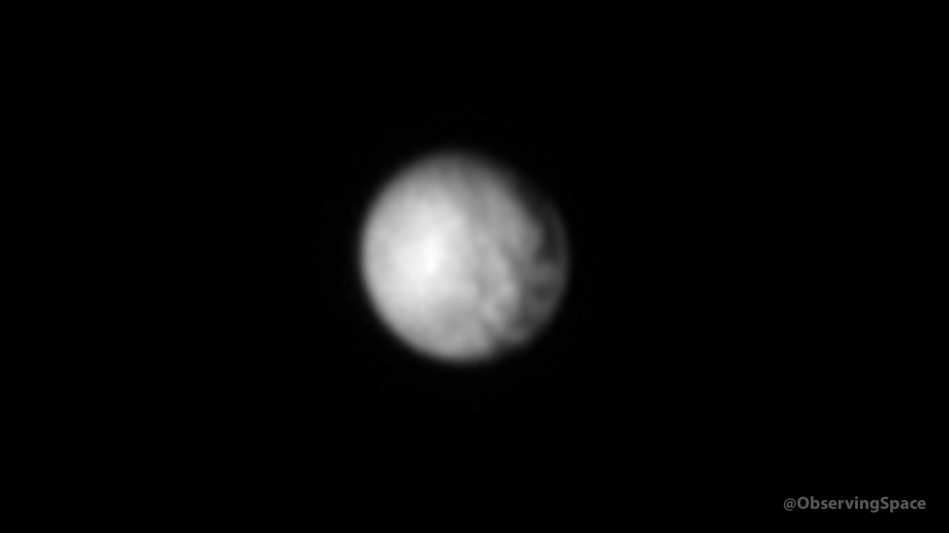 Pluto & Charon on July 3, 2015 - 23:31:25 UTC