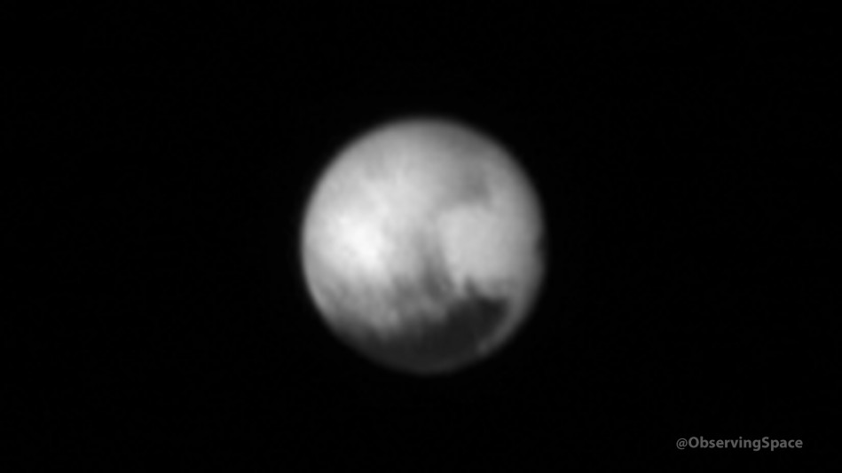 Pluto on July 7, 2015 at 22:46:05 UTC