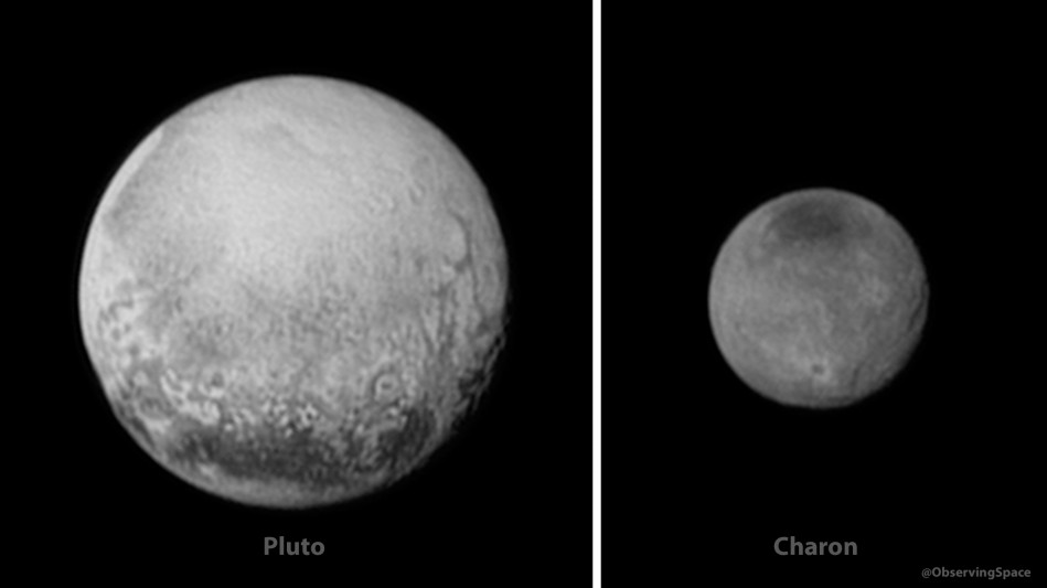 Pluto & Charon on July 11, 2015