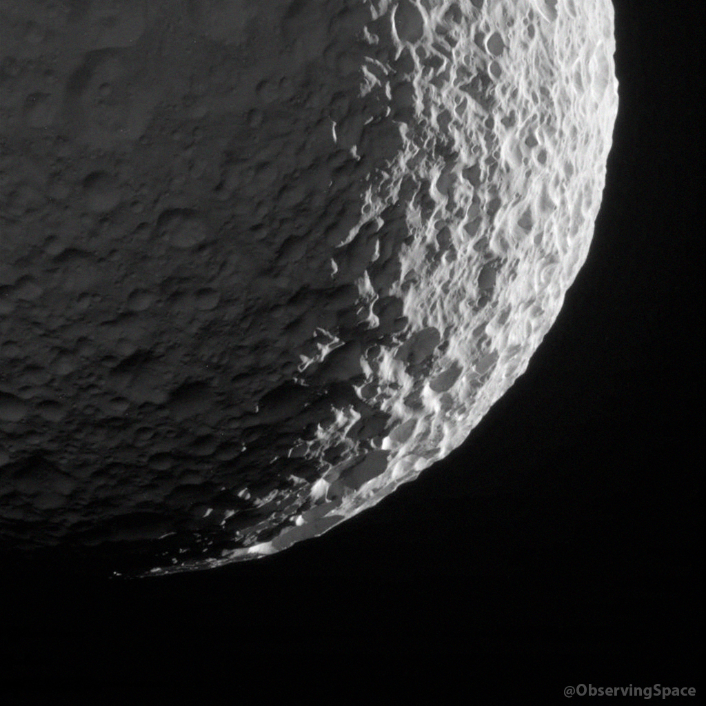 Mimas on January 30, 2017